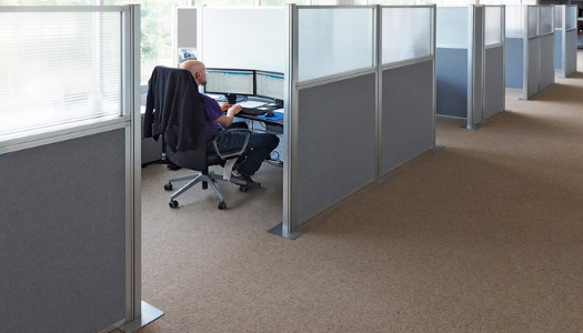 Configurable Cubicle Partition