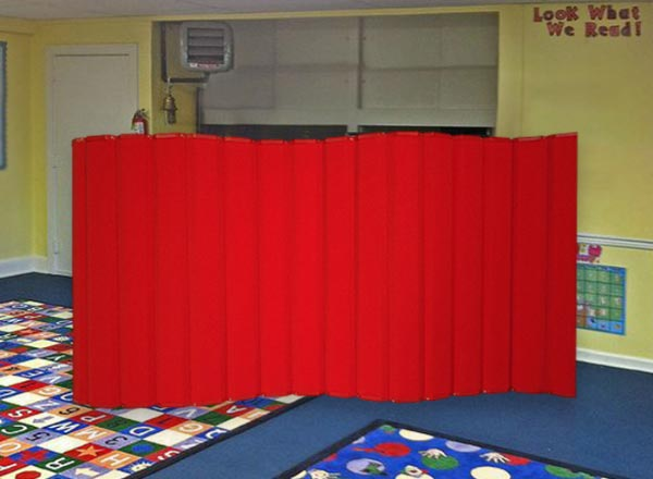 Acoustical Classroom Divider
