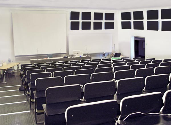 Lecture Hall Sound Panels