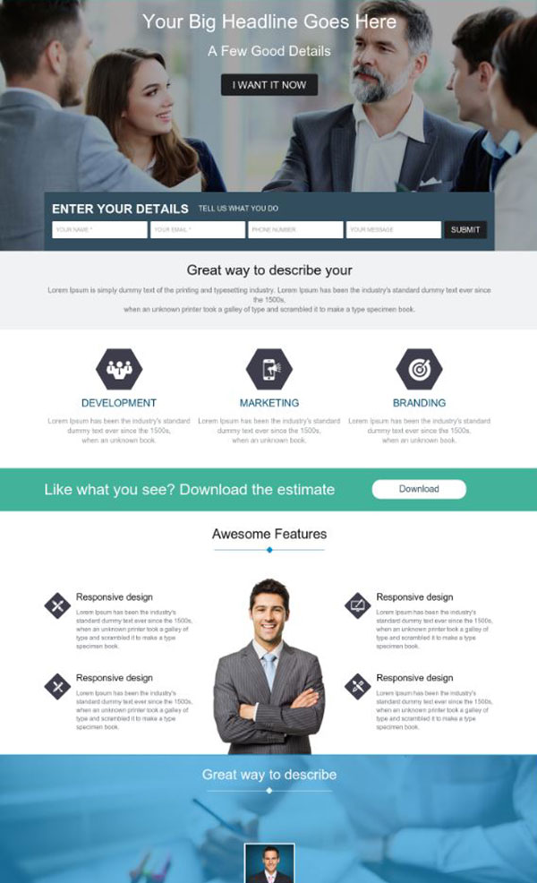 ActiveDEMAND Landing Pages